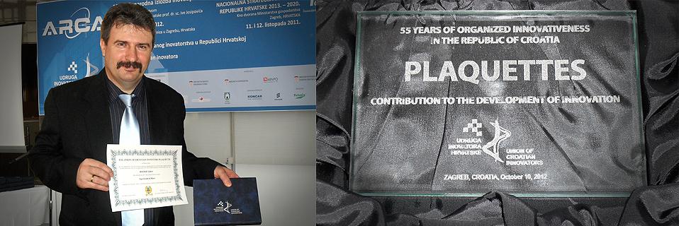 A BAccorLOGic Zeneoktatási Rendszer Kiváló Újításért Díjat nyert a 2012. október 10-13 között megrendezett 10. Nemzetközi Innovációs Kiállításon Zágrábban.